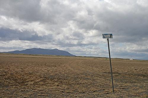 Barren airstrip