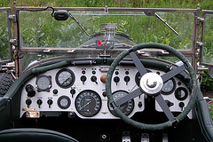 1934 Bentley - dashboard
