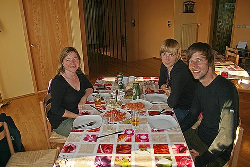 Dining in Húsavík with Judith and Sicco