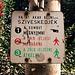 Budapest sign