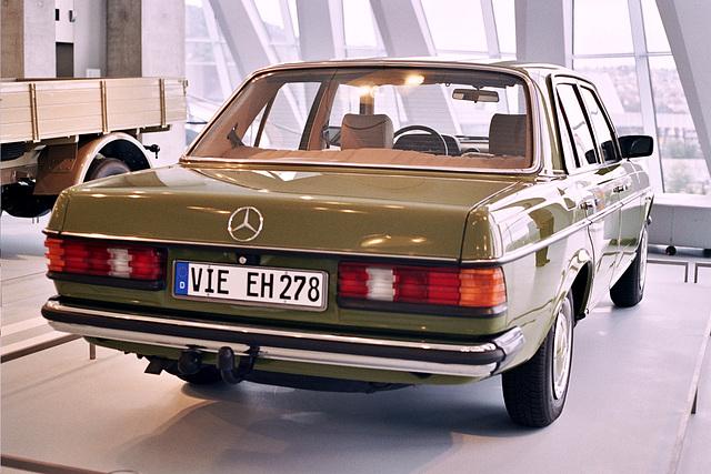 Visiting the Mercedes-Benz Museum: 1982 Mercedes-Benz 240 D