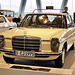 Visiting the Mercedes-Benz Museum: Mercedes-Benz 240 D taxi