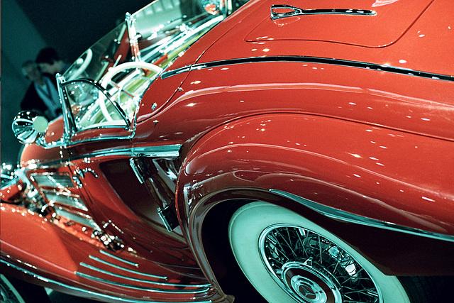 Visiting the Mercedes-Benz Museum: 1936 Mercedes-Benz 500K Special Roadster