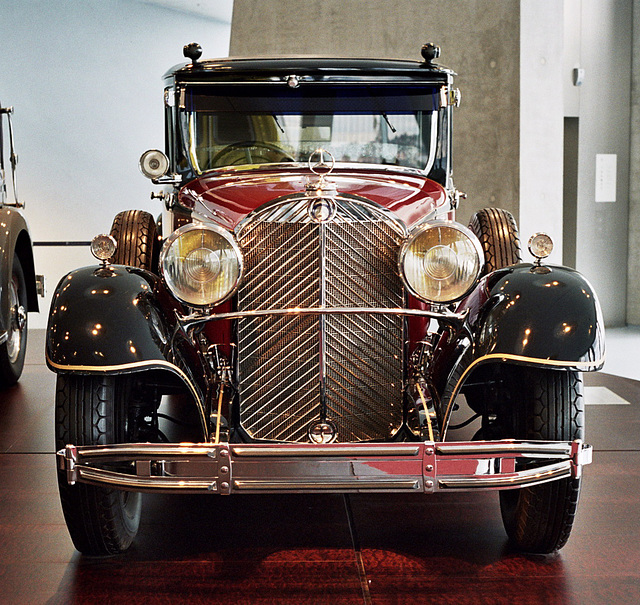 Visiting the Mercedes-Benz Museum: Hirohito's 1935 Mercedes-Benz 770