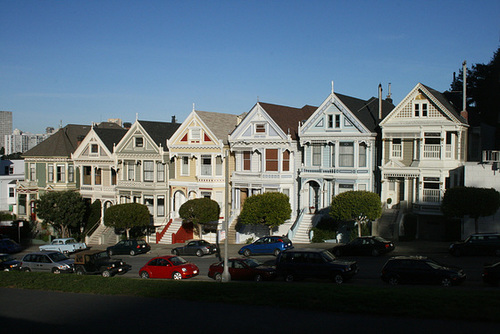 The Six Sisters at Alamo Square