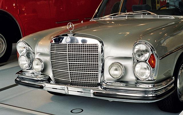 Visiting the Mercedes-Benz Museum: 1972 Mercedes-Benz 300 SEL 6.3