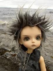 Deimos on the shore