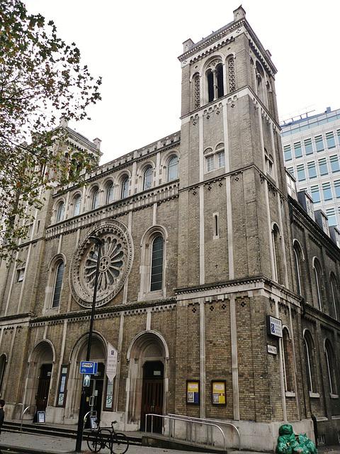 bloomsbury baptist church, london