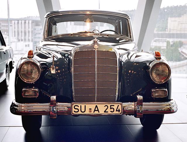 Visiting the Mercedes-Benz Museum: Konrad Adenauer's 1959 Mercedes-Benz 300