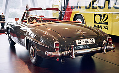 Visiting the Mercedes-Benz Museum: 1958 Mercedes-Benz 190 SL