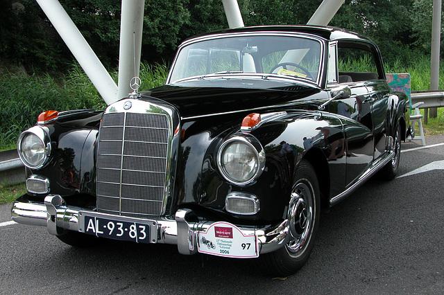 National Oldtimer Day in the Netherlands: 1959 Mercedes-Benz 300 Dora