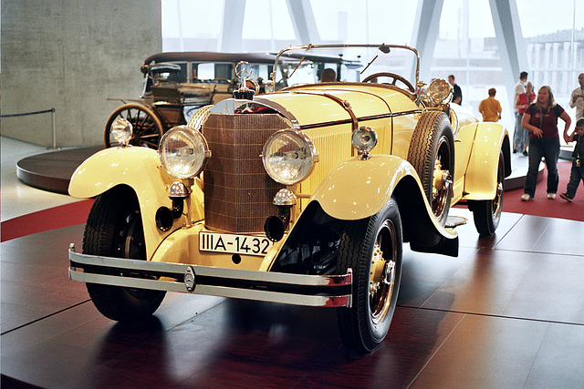 Visiting the Mercedes-Benz Museum: 1926 Mercedes-Benz 24/100/140 hp Roadster