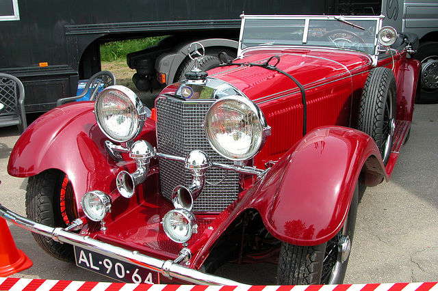 Mercs at the National Oldtimer Day: 1928 Mercedes-Benz S 680