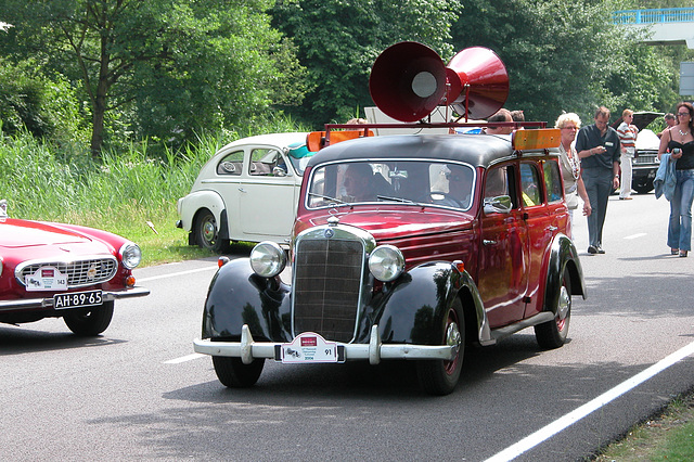 Mercs at the National Oldtimer Day: 1955 Mercedes-Benz 170 DS