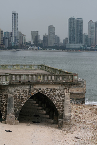 View from old town, Panama City