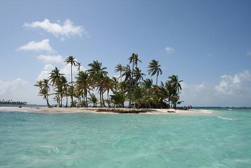 A typical San Blás Island