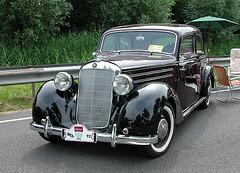 National Oldtimer Day in the Netherlands: 1952 Mercedes-Benz 170 DS