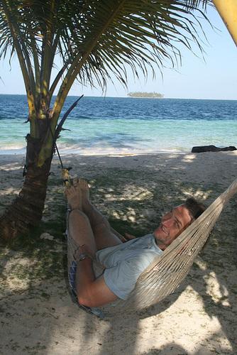 Richard, relaxing