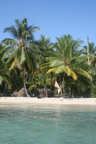 Yet another idyllic island scene