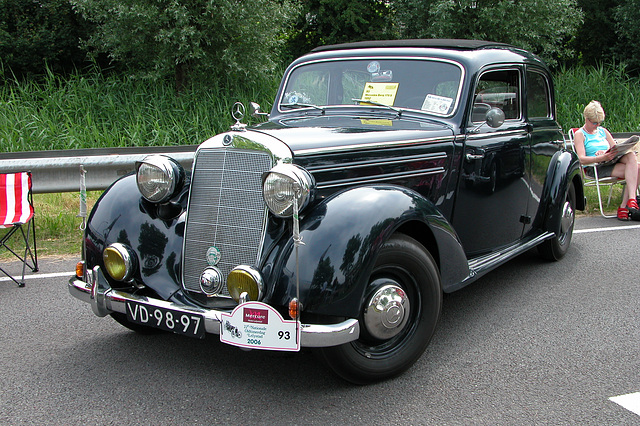 Mercs at the National Oldtimer Day: 1952 Mercedes-Benz 170 S