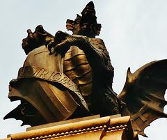 temple bar memorial, fleet st., london