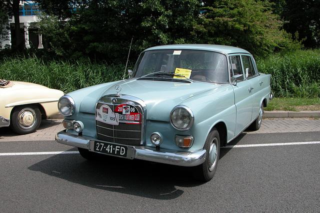Mercs at the National Oldtimer Day: 1962 Mercedes-Benz 190 D