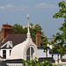 Weathervane - looking out from Fenton House roof terrace