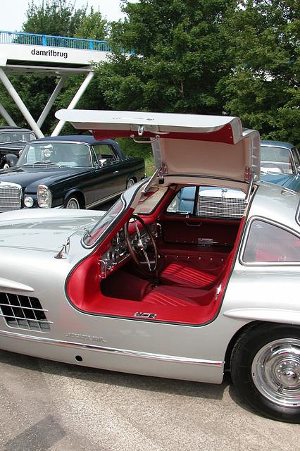Mercs at the National Oldtimer Day: 1955 Mercedes-Benz 300 SL Flügeltür