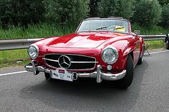 Mercs at the National Oldtimer Day: 1956 Mercedes-Benz 190 SL