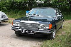 National Oldtimer Day in the Netherlands: 1977 Mercedes-Benz 450 SEL 6.9