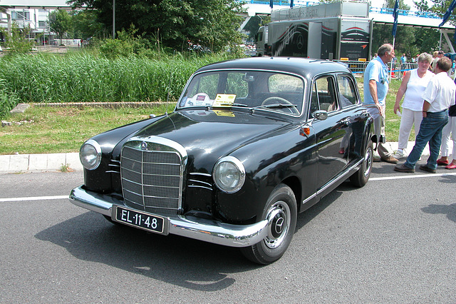 Mercs at the National Oldtimer Day: 1960 Mercedes-Benz 190