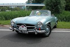 Mercs at the National Oldtimer Day: 1960 Mercedes-Benz 190 SL