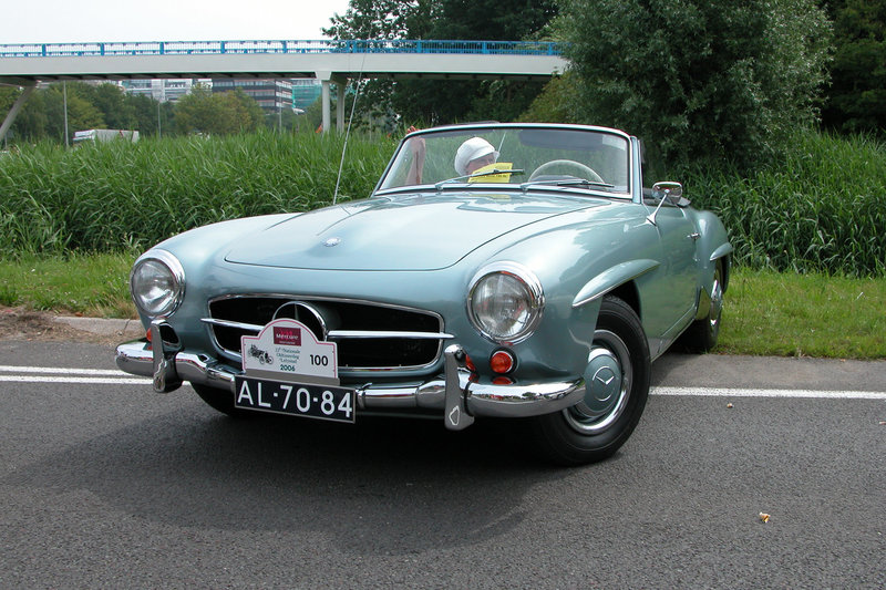 Mercs at the National Oldtimer Day: 1960 Mercedes-Benz 190 SL