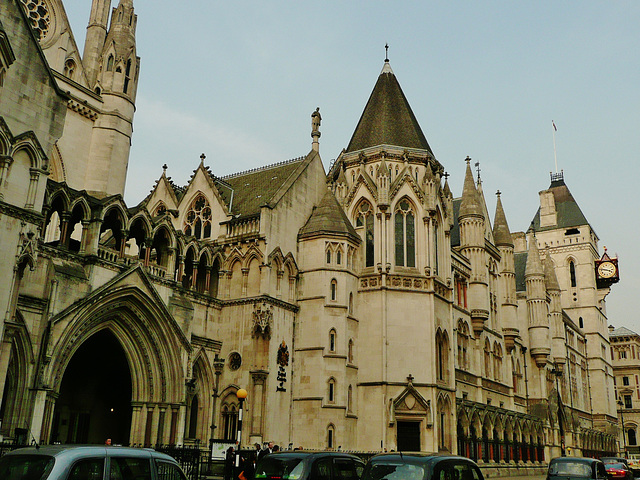 law courts, strand, london