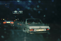 1971 Mercedes 250 - rear view