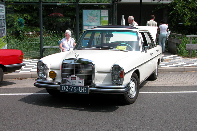 Mercs at the National Oldtimer Day: 1972 Mercedes-Benz 280 S