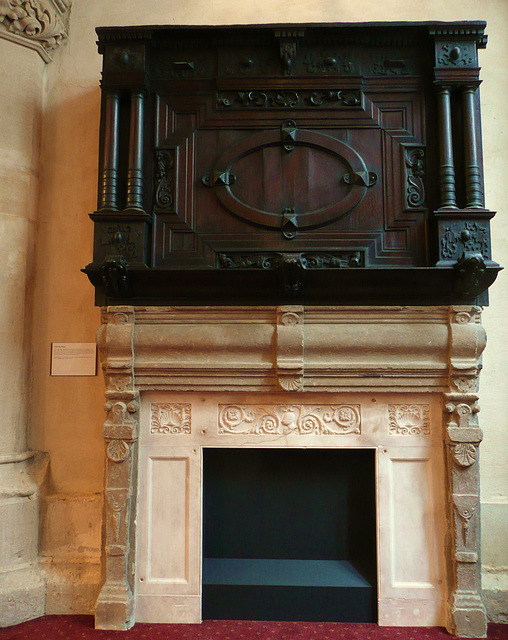 guildhall library fireplace, london