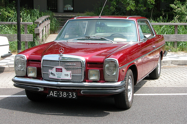 Mercs at the National Oldtimer Day: 1971 Mercedes-Benz 250 CE