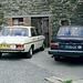 1971 Mercedes 250 & Volvo 242 DL
