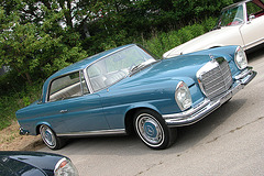 Mercs at the National Oldtimer Day: 1971 Mercedes-Benz 280 SE Coupé