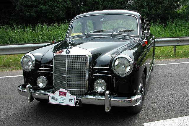 Mercs at the National Oldtimer Day: 1957 Mercedes-Benz 190 D