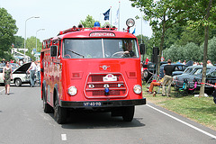 Heavy vehicles at the National Oldtimerday: 1966 DAF G 1300 BA325