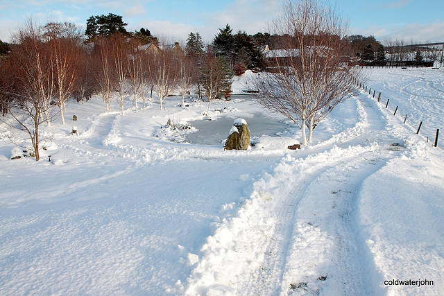 Snowploughed paths again this morning 5234817488 o