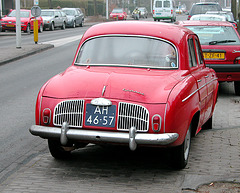 1965 Renault Dauphine Export 1094 - (better) rear view