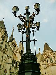 strand lampstandard, london