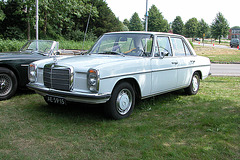 National Oldtimer Day in the Netherlands: 1972 Mercedes-Benz 230