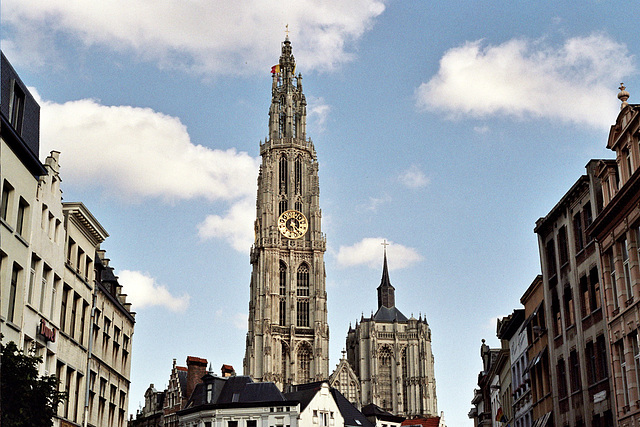 A quick visit to Antwerp: Cathedral tower