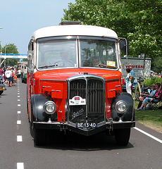 Heavy vehicles at the National Oldtimerday: 1964 Berna L4 UP 354