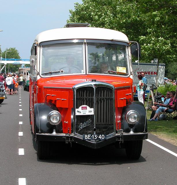 Heavy vehicles at the National Oldtimerday: 1964 Berna L4 UP 354
