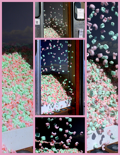 """""""We Are Experiencing Some Turbulence"""": installation by Michael Schippling"""